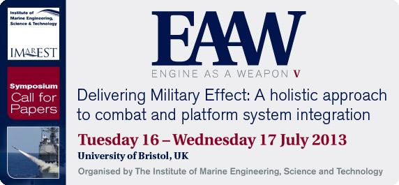 'Engine as Weapon' symposium seeks papers ahead of July 16-17 meeting