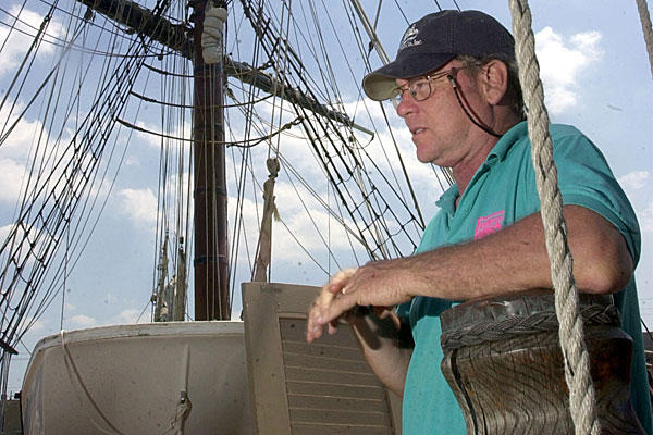 Search called off for tall ship's captain Robin Walbridge