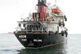 Fuel worth $400,000 stolen from hijacked bunker tanker 'Arowana United'