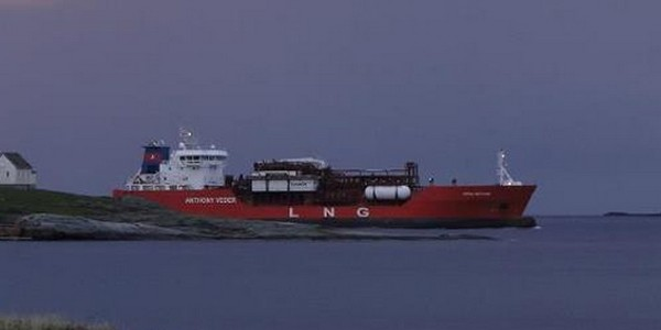 Cryonorm to Supply LNG Fuel System for Two Anthony Veder's Carriers