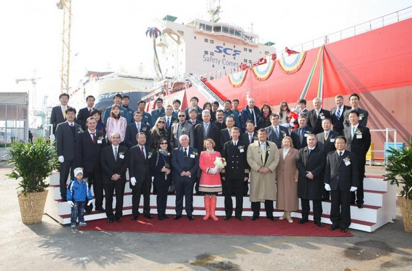 South Korea: First RS/ABS Class Bulker Dubbed NS ENERGY