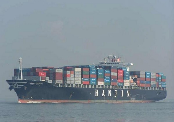 MV Hanjin Geneva Runs Aground to Avoid Fishing Vessel