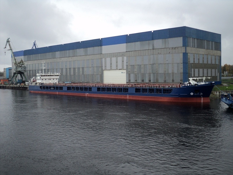 Largest Russian 'river-sea' class dry cargo ship starts operation