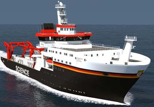Kongsberg Maritime Survey Suite for German Universities' New Vessel