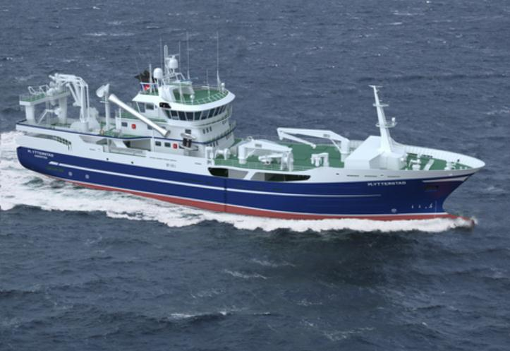Norway: Advanced Trawler Ship Design by Skipsteknisk