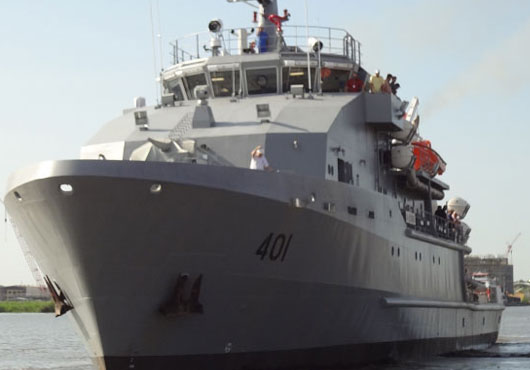 U.S. Navy Delivers Two 60m OSVs to Iraqi Navy