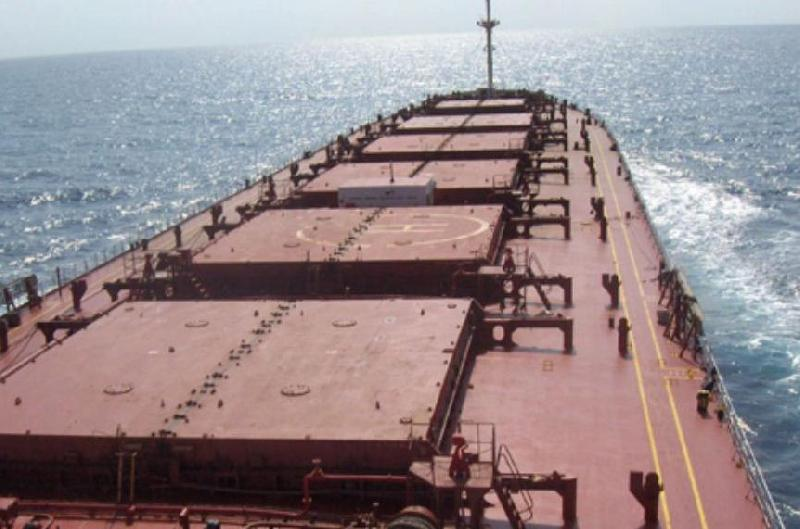 Shipping Corporation of India Receives New Kamsarmax Bulk Carrier