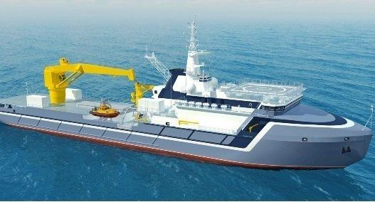Russia: Keel Laid for Project 20183 at Zvezdochka Shipyard