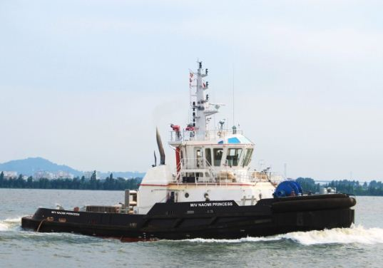 Yuexin Delivers ASD Tug NAOMI PRINCESS to Nigerian Owner