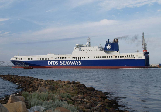 DFDS Confirms Negotiations with P+S Werften on Two Ro-Ro Ships