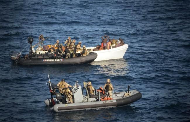 MSC Jasmine slightly damaged in pirate attack - 12 pirates captured