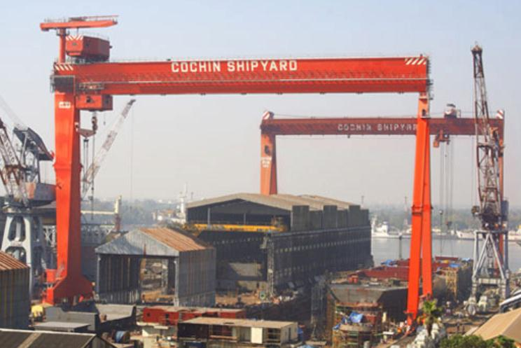 Cochin Shipyard: First FPV for Indian Coast Guard Launched