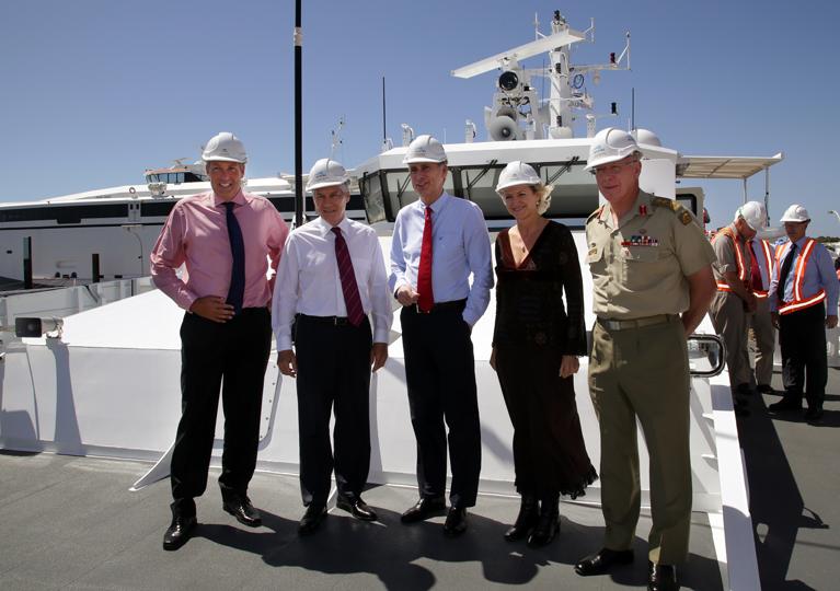 UK Defence Delegation Visits Austal (Australia)