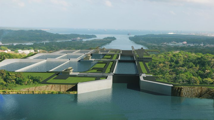 Panama Canal expansion 50pc done, faces year's delay, opens 2015