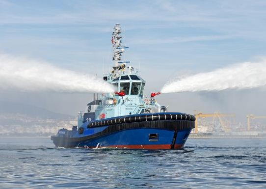 Turkey: Sanmar Yard Delivers New Tug to Ostensjo Rederi