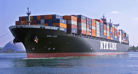 NYK Line upwardly revises profit forecast to US$66 million in 2012