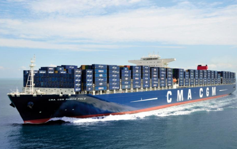 SAM Electronics Control Systems Onboard CMA CGM Marco Polo