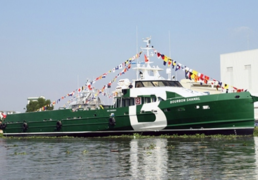 PIRIOU Delivers Its 100th Crew Boat (Vietnam)