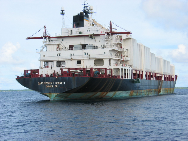 MSC Chartered Containership Delivers Cargo to Thailand