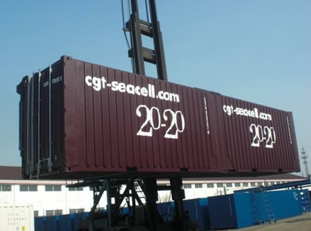 CGT Presents New SeaCell Container Design (UK)