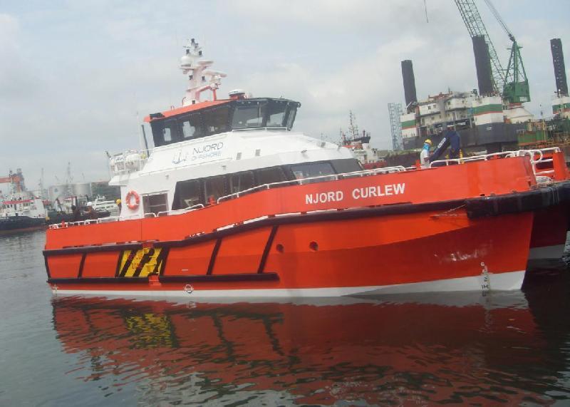 Strategic Marine Hands Over Njord Curlew to UK Fleet Operator