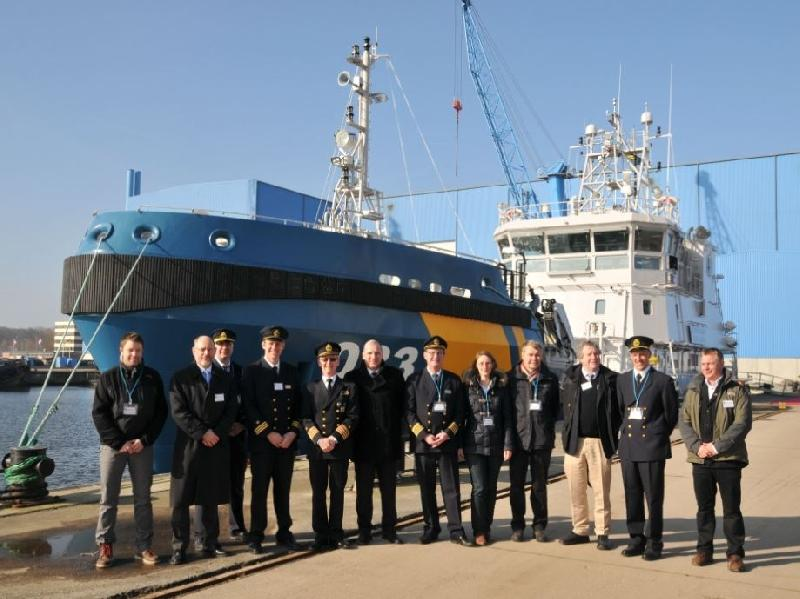 Peene-Werft Wolgast Hands Over New Vessel to Swedish Coast Guard