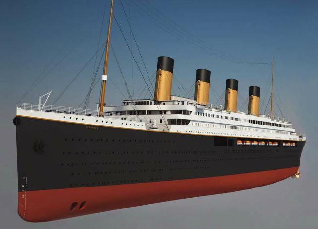 Blue Star Line's Chairman Unveils Design Plans for Titanic II