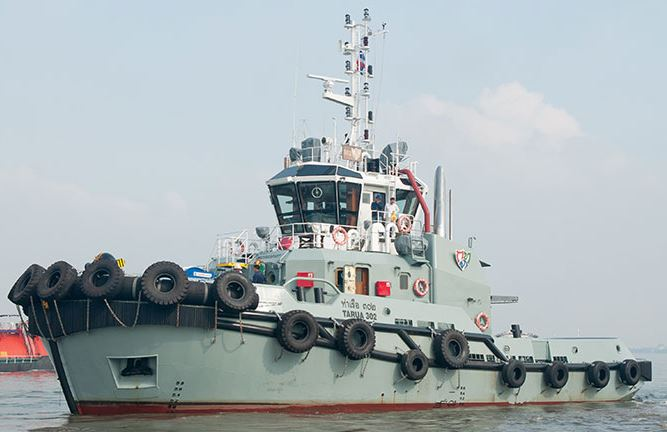 Italthai Marine Delivers Second RAmparts Tug to Port Authority of Thailand