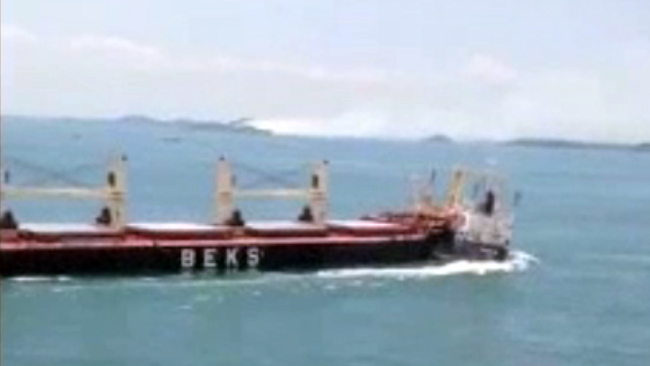 Collision in Strait of Singapore: Turkish bulker Beks Halil collided with bulk carrier