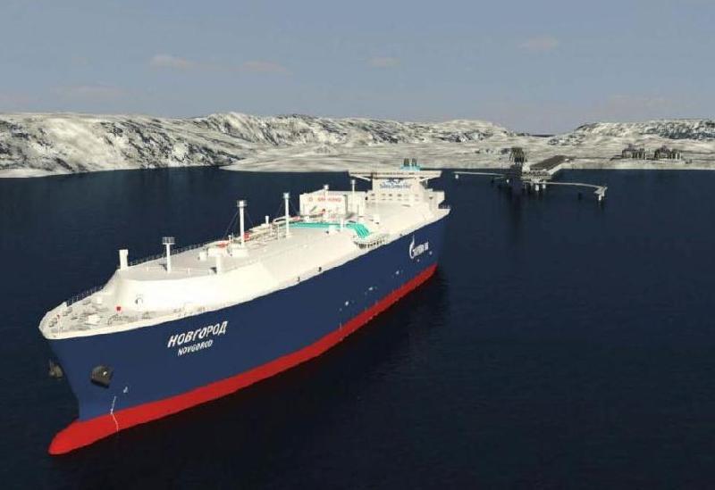 STX lays keel for LNG carrier for SCF Sovcomflot
