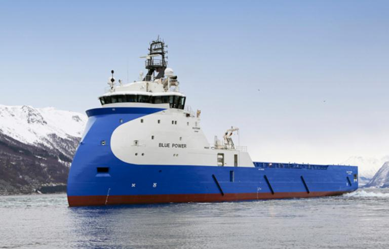 Norway: Ulstein Delivers Third Medium-Sized PSV to Blue Ship Invest (VIDEO)