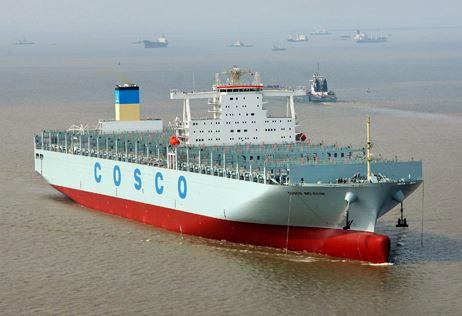Nantong Cosco KHI shipyard's 13,386-TEU Cosco Belgium delivered