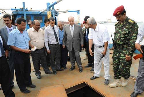 Yemen seized weapons ship as Jehan 2 near the Bab el Mandeb