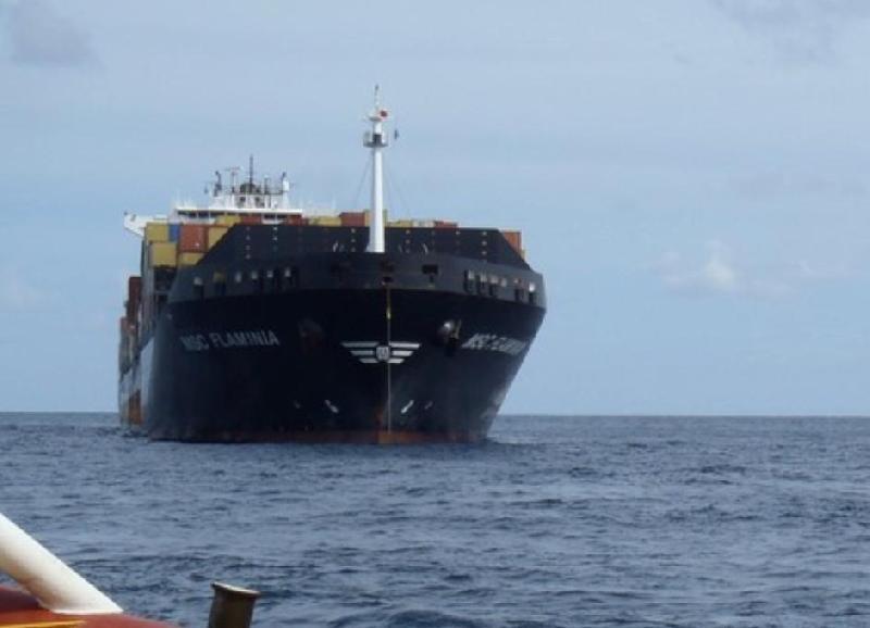 MSC Flaminia to pass through Turkish Straits