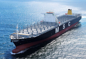 MSC deploys ultra large containerships on Far East-SA-Europe service