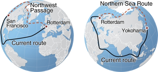 Chinese commercial shipping forecasts greater use of Arctic routes