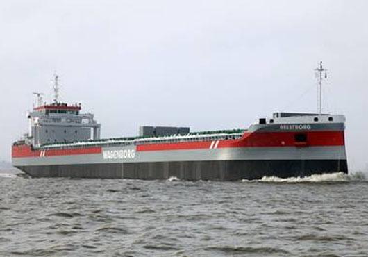 The Netherlands: Ferus Smit Shipyard Delivers MV Reestborg