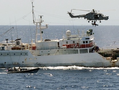 Africa: HMS Argyll Rescues Fisherman at Cape Verde