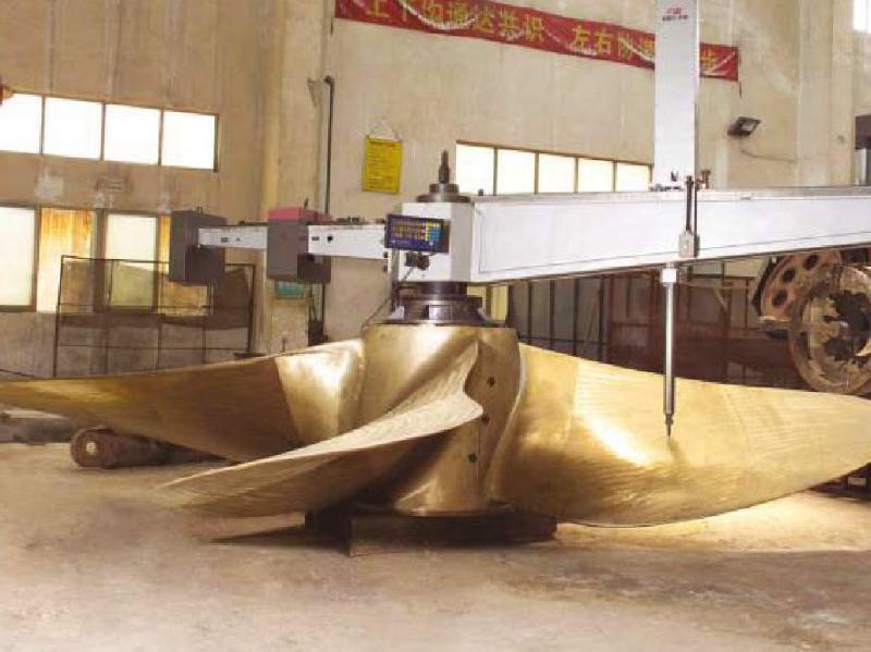 Stone Marine Propulsions NPT Propeller Powers Seahorse 35000