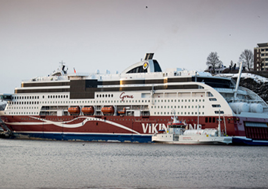 Sweden: World's First Fuelling Vessel for LNG Christened