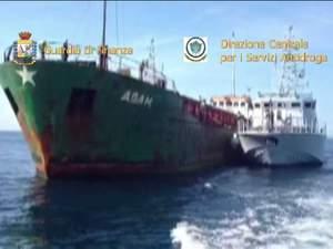 20 tons marijuana seized in Mediterranean in Egyptian ship