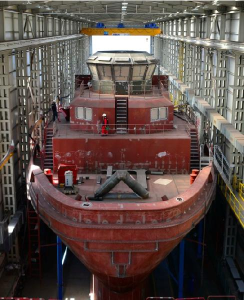 Cooperation Smoothes Path to Gas Powered Tugs