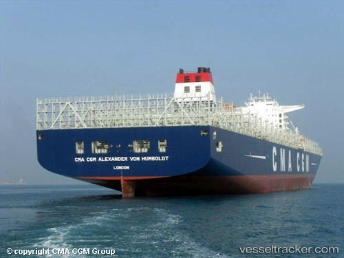 CMA CGM's 16,000-TEU Alexander Von Humboldt joins Asia-Europe trade