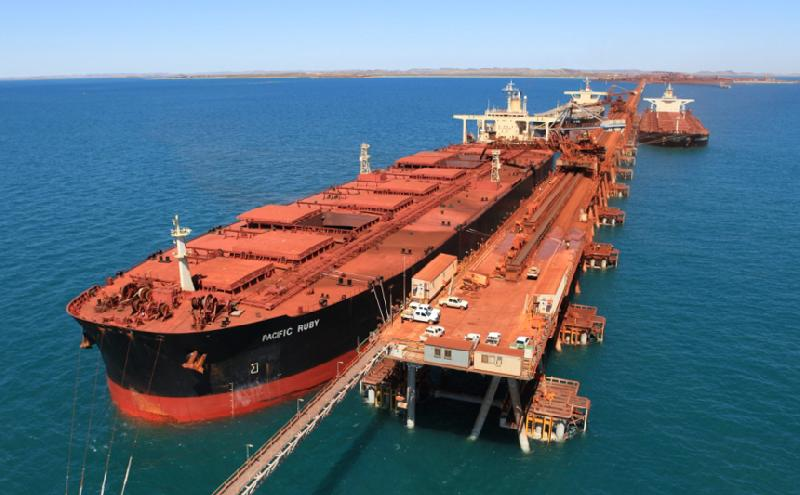 Ore-Ship Rates Climb to a One-Month High as Charters Increase