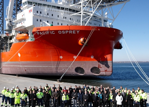 DanTysk New Installation Vessel Named (Denmark)