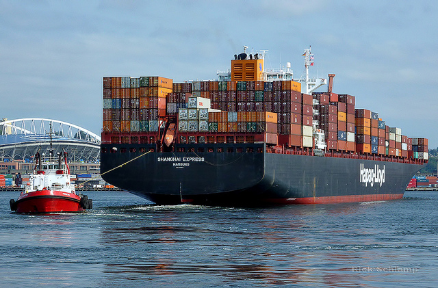 Fifth of ten 13,169 TEUers joins Hapag-Lloyd's Asia-Europe G6 trade