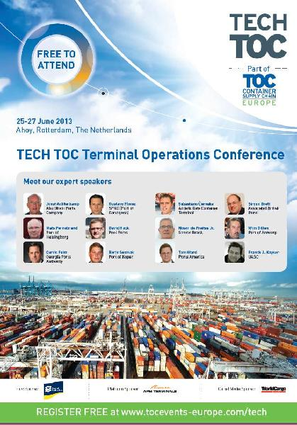 TOC Container Supply Chain conference in Rotterdam June 25-27