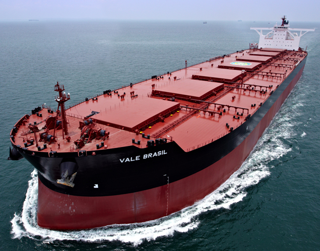 Brazilian iron ore exports down by 14pct in April