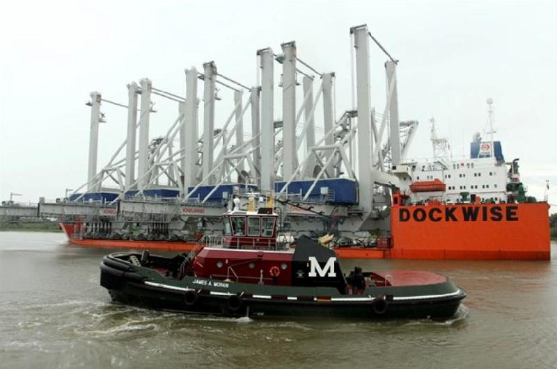 USA: Port of Savannah Receives Four New STS Cranes