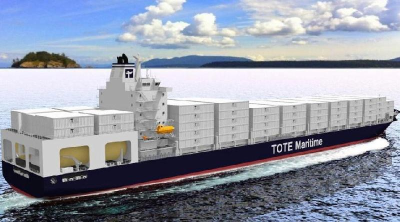 TOTE's LNG-Powered Containerships Receives Prestigious Nor-Shipping Award